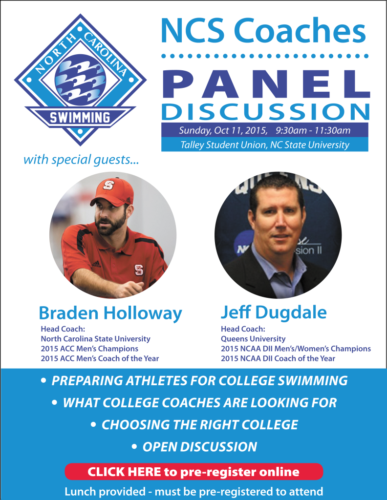 2015 NCS Coaches Panel Discussion