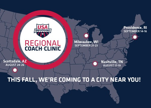 USA Swimming Regional Coaching Clinics